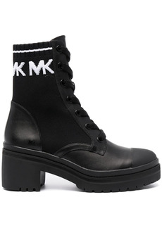 Michael Kors lace-up heeled boots