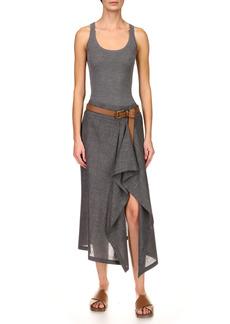 Michael Kors Collection - Women's Pare Wool-Blend Skirt - Grey - Moda Operandi