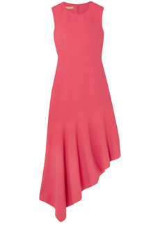 Michael Kors Collection Woman Asymmetric Wool-blend Dress Pink