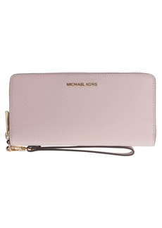Michael Kors Continental Wallet In Leather