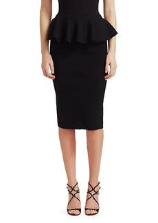 Michael Kors Peplum Pencil Skirt