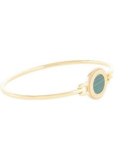 Michael Kors Sterling Silver Focal Stone Flexi Bracelet
