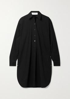 Michael Kors Washed Cotton-poplin Tunic