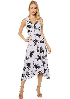 MICHAEL Michael Kors Bi-Color Blooming Hanky Hem Dress