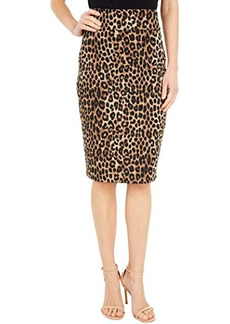 MICHAEL Michael Kors Cheetah Pencil Skirt