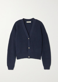 MICHAEL Michael Kors Cropped Cotton Cardigan