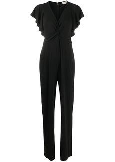 MICHAEL Michael Kors draped straight-leg jumpsuit