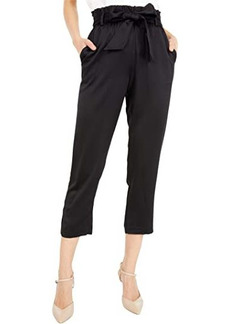 MICHAEL Michael Kors Hammered Satin Paperbag Pants