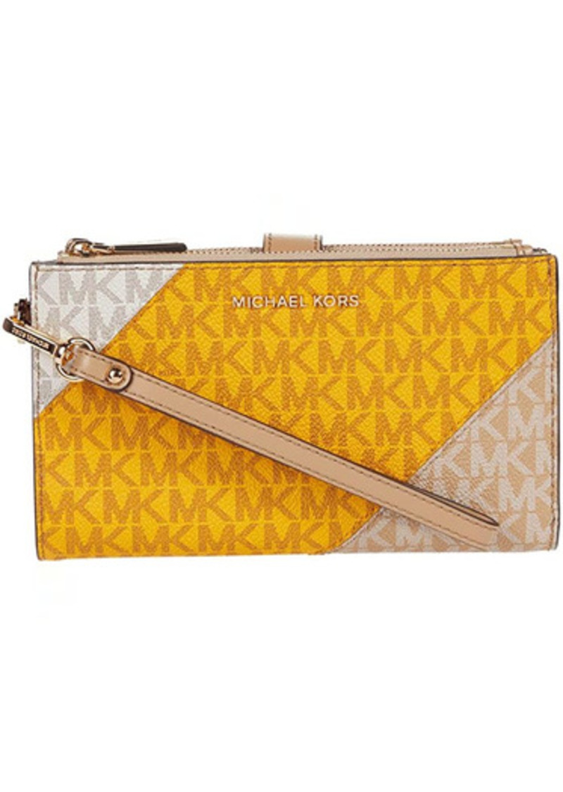 MICHAEL Michael Kors Jet Set Double Zip Wristlet