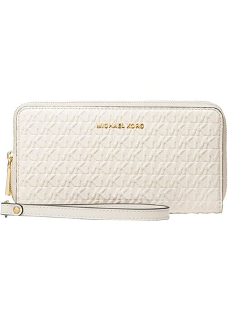 MICHAEL Michael Kors Jet Set Large Double Zip Wristlet