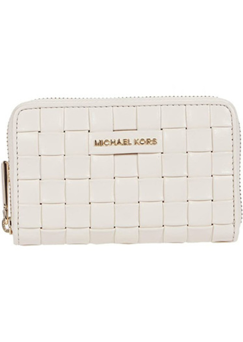 MICHAEL Michael Kors Jet Set Small Zip Around Card Case