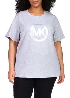 MICHAEL Michael Kors Michael Kors Foil Logo Graphic Tee (Plus Size)