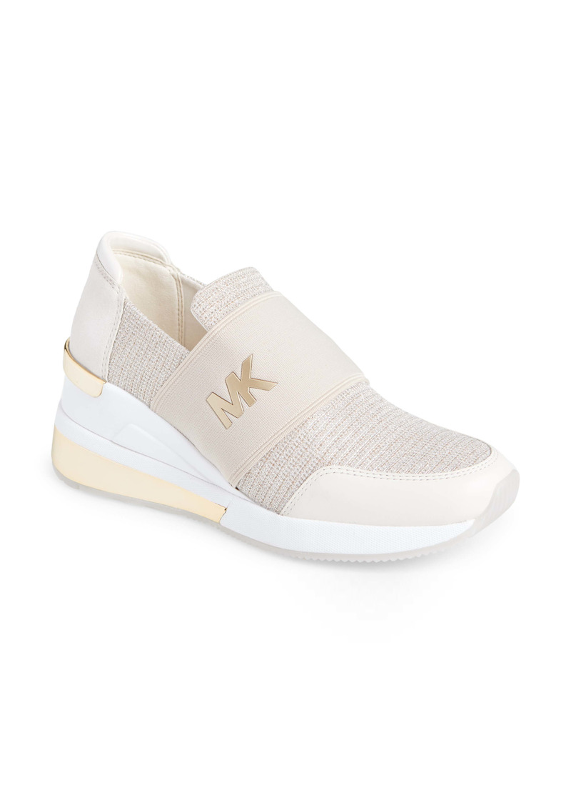 MICHAEL Michael Kors Felix Extreme Wedge Sneaker (Women)