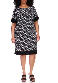 MICHAEL Michael Kors Floral Dress (Plus Size)