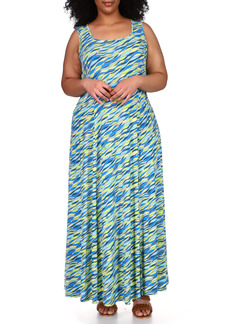 MICHAEL Michael Kors Jersey Maxi Dress (Plus Size)