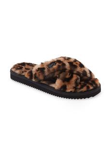 MICHAEL Michael Kors Lala Faux Fur Slide Slipper (Women)