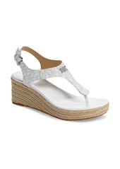 MICHAEL Michael Kors Laney Espadrille Platform Wedge Sandal (Women)