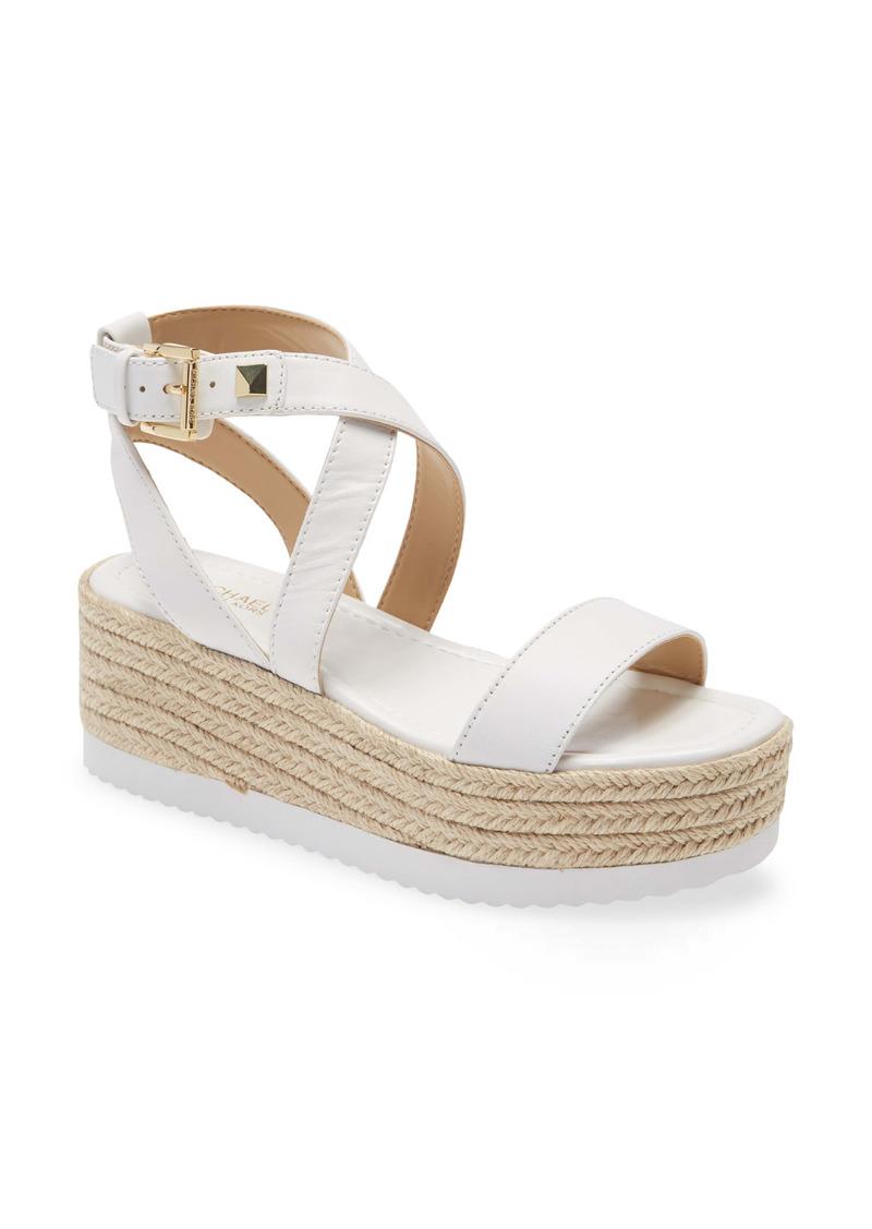 MICHAEL Michael Kors Lowry Platform Wedge Sandal (Women)