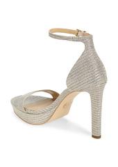MICHAEL Michael Kors Margot Glitter Platform Sandal (Women)