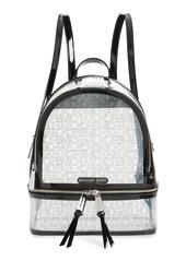 MICHAEL Michael Kors Medium Rhea Transparent Backpack