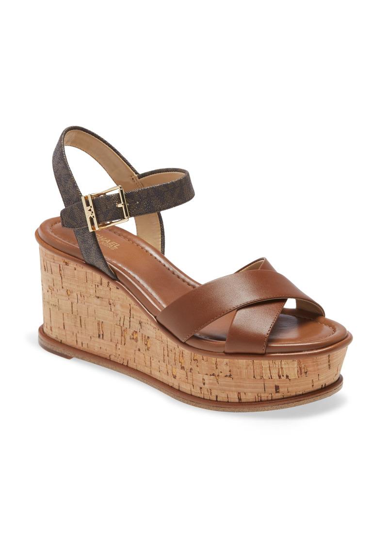MICHAEL Michael Kors Melina Wedge Sandal (Women)
