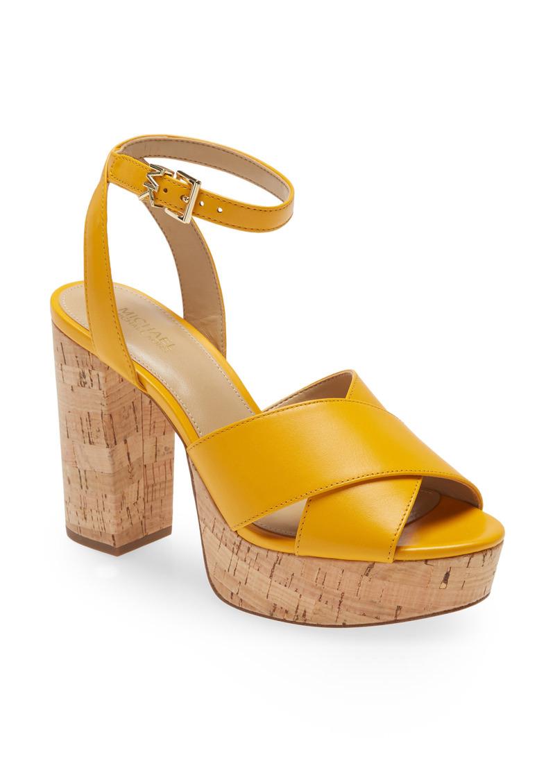 MICHAEL Michael Kors Odette Ankle Strap Platform Sandal (Women)