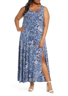 MICHAEL Michael Kors Paisley Sleeveless Dress (Plus Size)