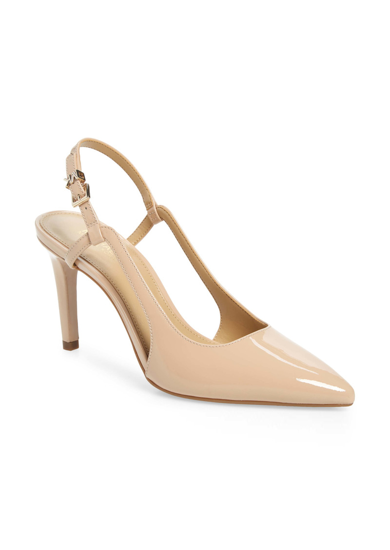 MICHAEL Michael Kors Vanessa Slingback Pointed Toe Pump (Women)