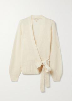 MICHAEL Michael Kors Ribbed-knit Wrap Cardigan
