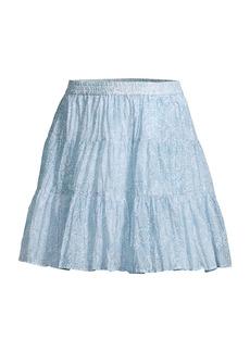 MICHAEL Michael Kors Sunbleached Paisley Skirt