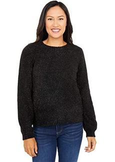 MICHAEL Michael Kors Texture Puff Sleeve Sweater