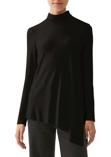 Michael Stars Cher Turtleneck Asymmetrical Hem Tunic