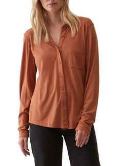 Michael Stars Harley Long Sleeve Ultra Jersey Shirt