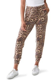 Michael Stars Jenny Eden Leopard Joggers
