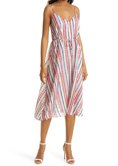 Milly Becca Watercolor Stripe Dress