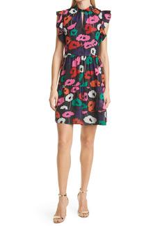 Milly Layla Poppy Print Dress