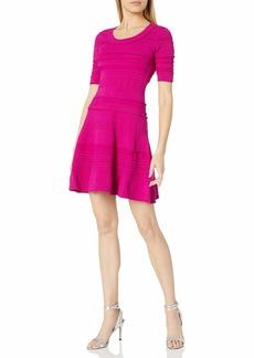 MILLY Women's Textured Tech Dress  M