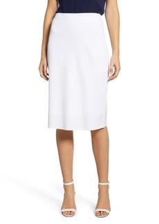 Ming Wang A-Line Knit Skirt