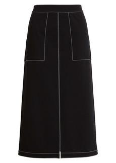 Ming Wang A-Line Skirt
