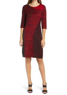 Ming Wang Colorblock Dress