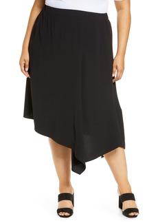 Ming Wang Handkerchief Skirt (Plus Size)