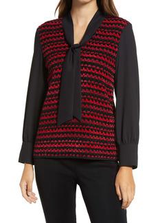 Ming Wang Layered Sweater