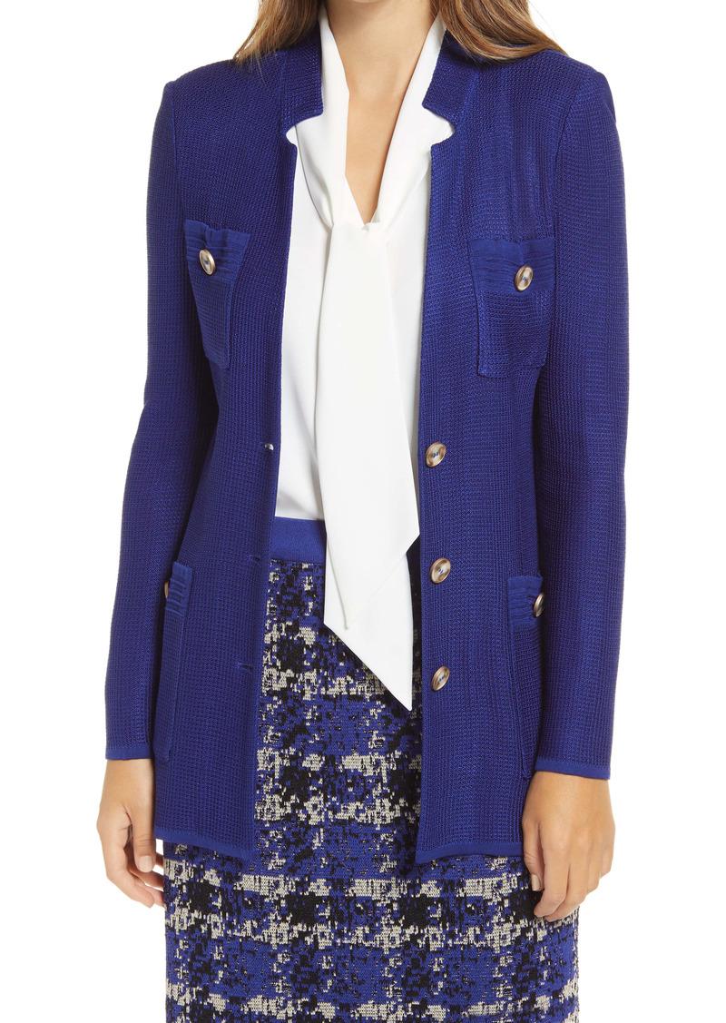 Ming Wang Long Knit Jacket