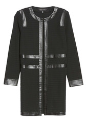 Ming Wang Ribbed Jacket