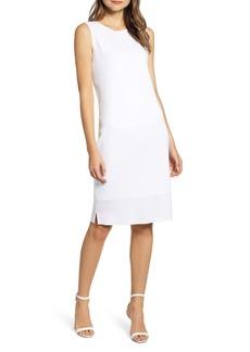Ming Wang Sleeveless Shift Dress