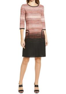 Ming Wang Stripe Dress