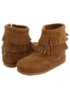 Minnetonka Side Zip Double Fringe (Toddler/Little Kid/Big Kid)