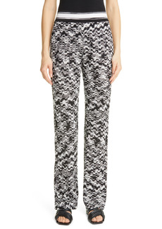 Missoni Straight Leg Knit Pants
