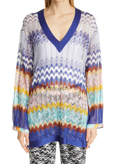 Missoni Stripe V-Neck Tunic