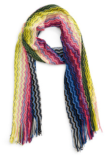 Missoni Zigzag Cotton Scarf